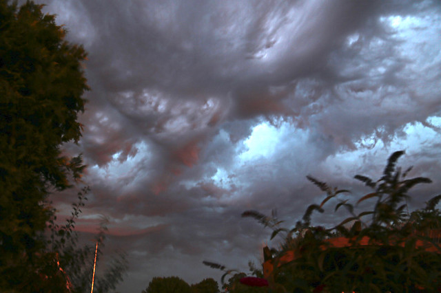 Before the storm in Kent Asperitas cloud formation