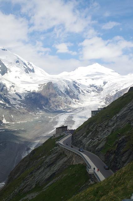 Austrian alps near Grossglockner
