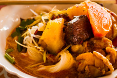 Cambodian RIce Noodle Soup