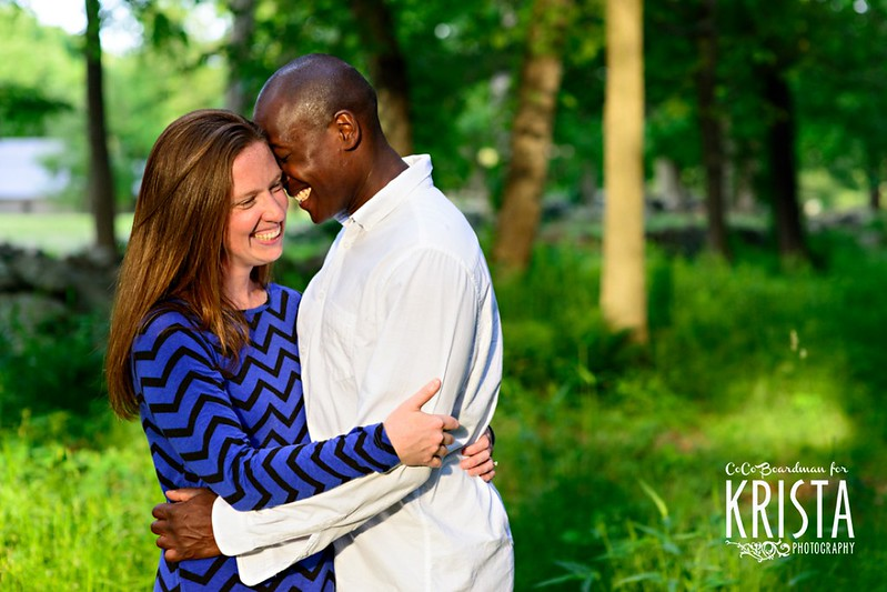 Engagement Portrait Session at Minuteman National Park