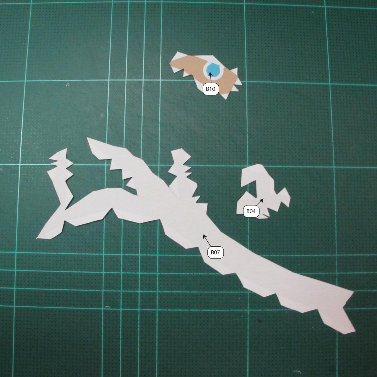 วิธีทำโมเดลกระดาษของเล่นคุกกี้รัน คุกกี้รสพ่อมด (Cookie Run Wizard Cookie Papercraft Model) 001