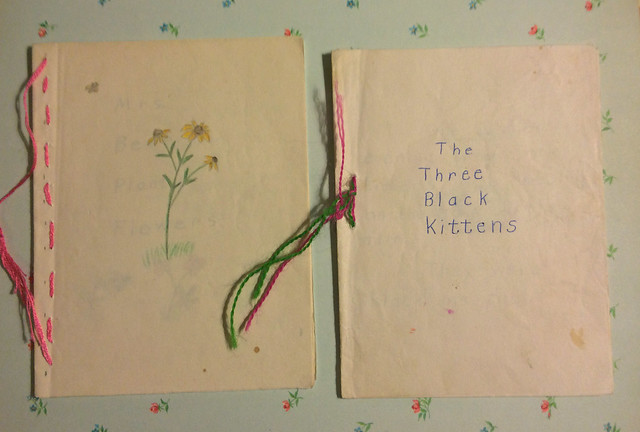 Little books by my grandma, Sarah Catherine Wiseheart Wells