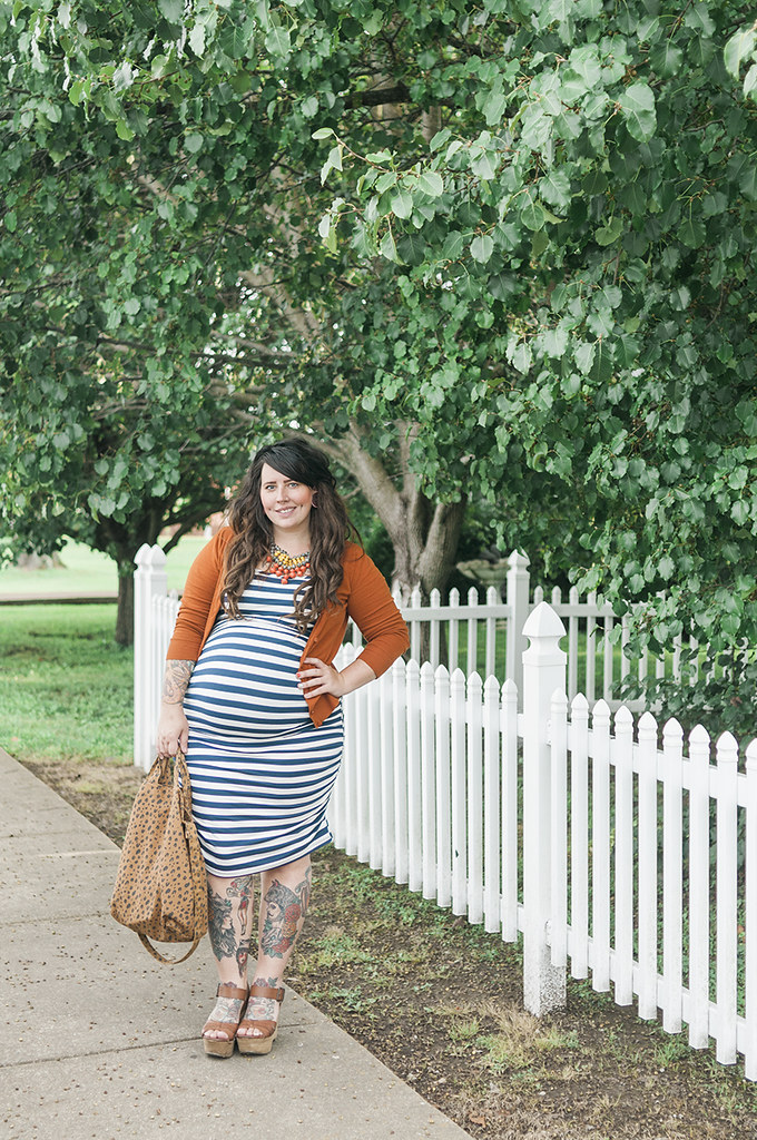 Screensaver - Maternity Style - 38 Weeks - The Clueless Girl's Guide