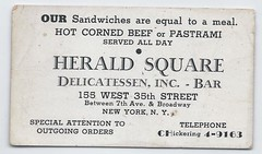11348  U. S. New York Herald Square Delicatessen, Inc. Jewish