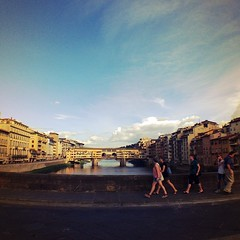 We walked the city for sure. #tuscany #italy #florence