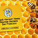 Bees on Honeycells Stickers