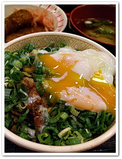 蔥溫玉牛丼2