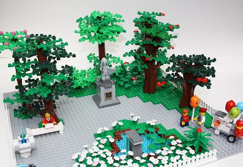 Afficher le sujet moc parc - Comment faire une ville lego city ...