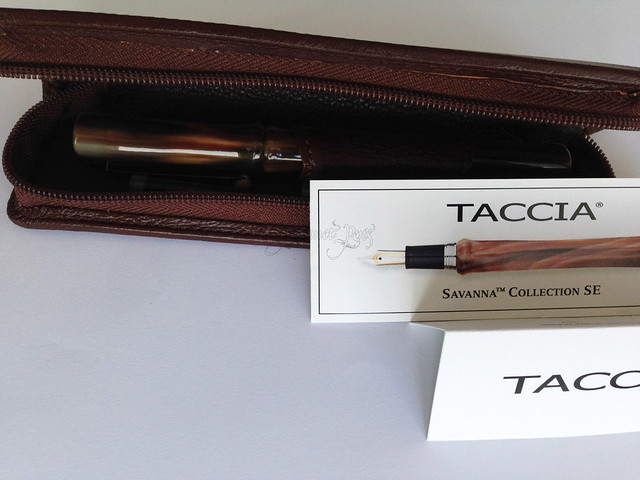 Review: Taccia Savanna Special Edition Fountain Pen - Broad @PenChalet