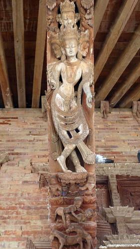 Nepal- Kathmandu - Jagannath Temple - Erotic Wood Carvings - 9