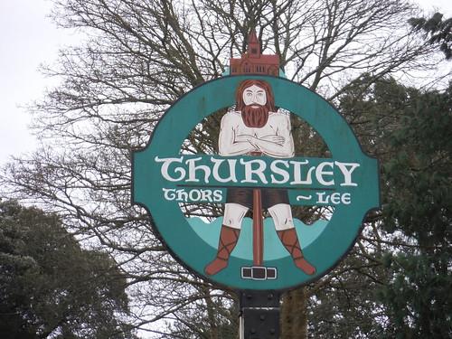 Thursley Village Sign