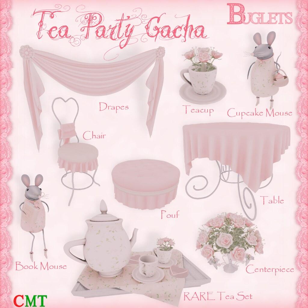 Tea Party Gacha AD - SecondLifeHub.com