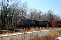 Q136 East arriving at Brunswick, MD