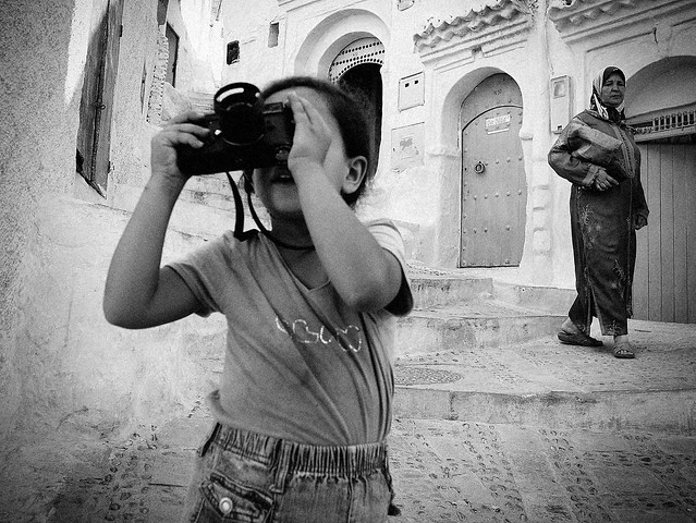 Malak and My Leica