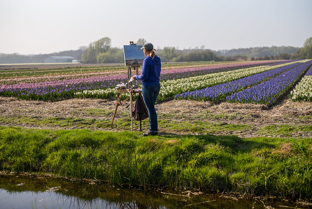 Painting Dutch Spring