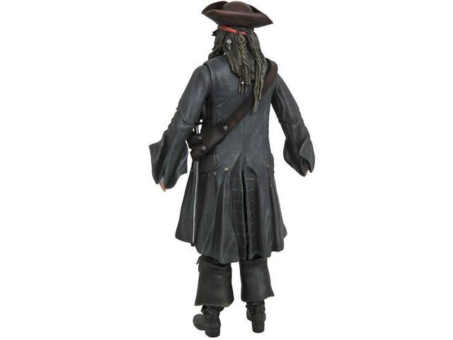 Diamond Select Toys「神鬼奇航:死無對證」Pirates of the Caribbean: Dead Men Tell No Tales「傑克·史派羅」Jack Sparrow可動人偶