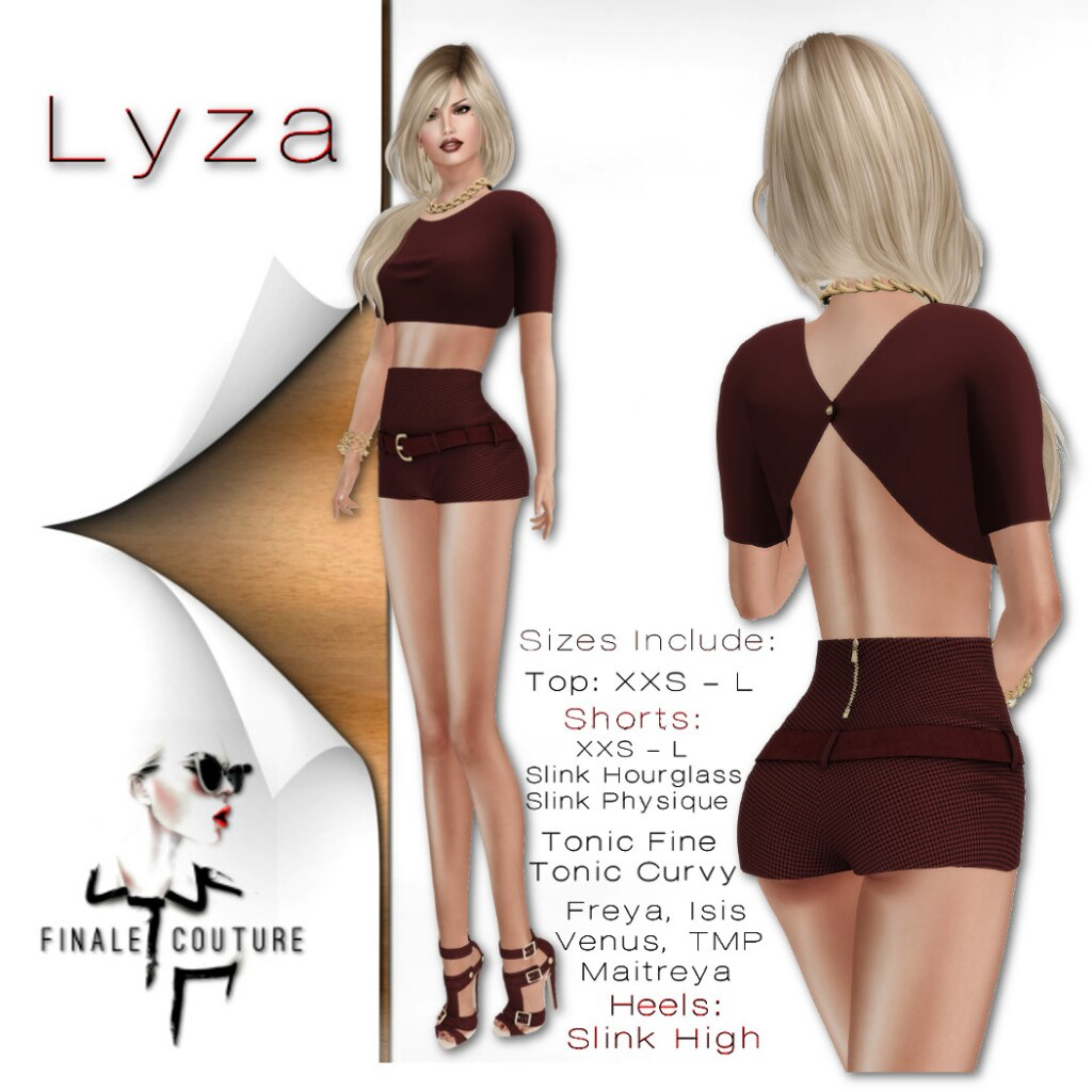 Finale Couture Lyza Poster - SecondLifeHub.com