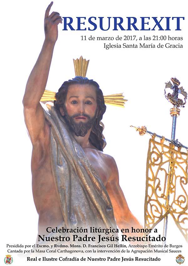 El Arzobispo emérito de Burgos presidirá el Resurrexit