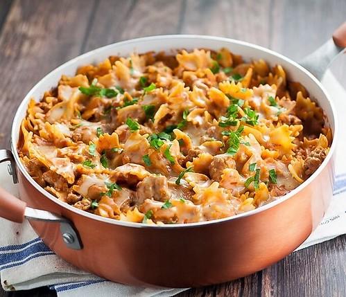 creamy-sausage-and-bow-ties-pasta-recipe