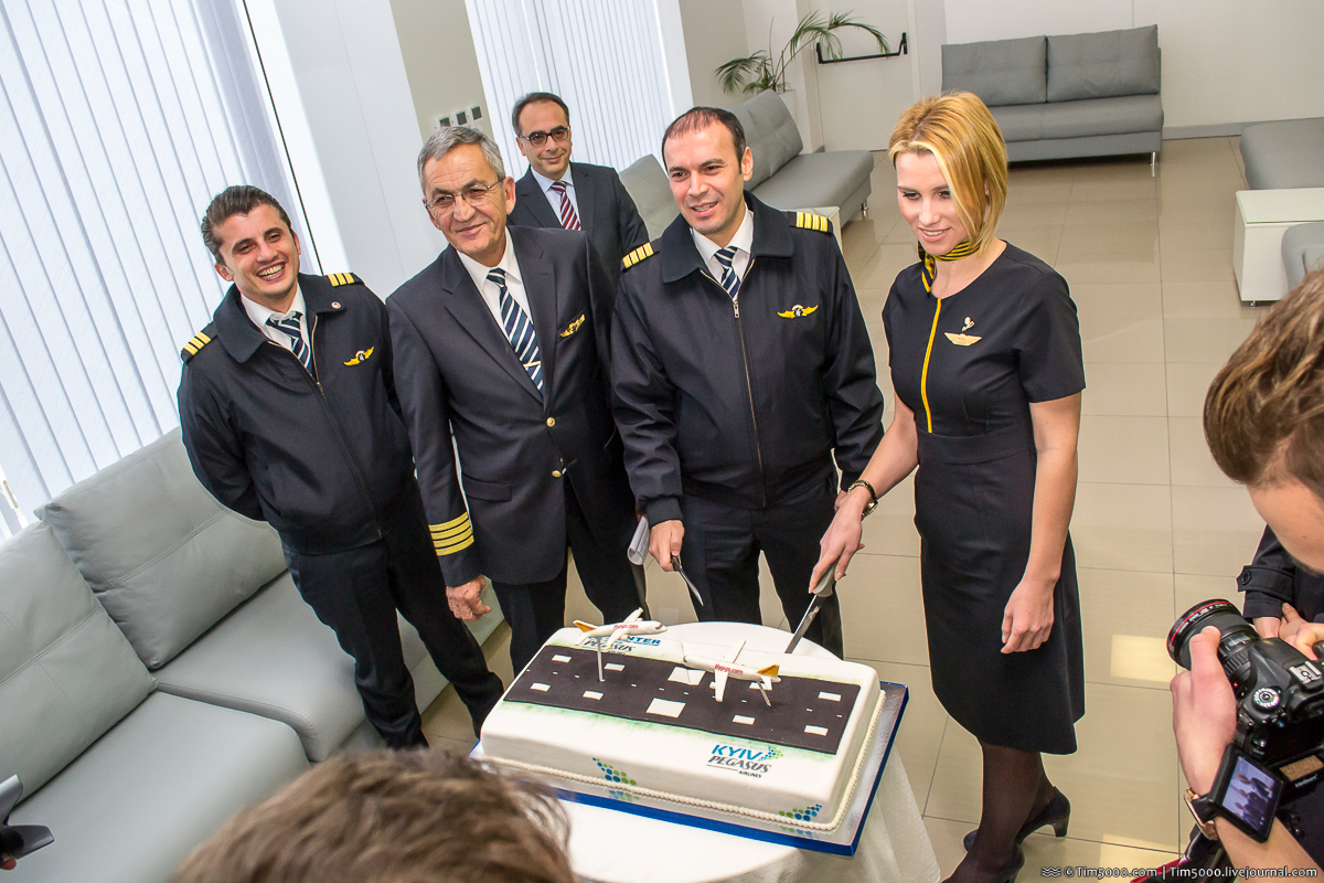 Pegasus Airlines - открытие авиарейса Киев-Анкара