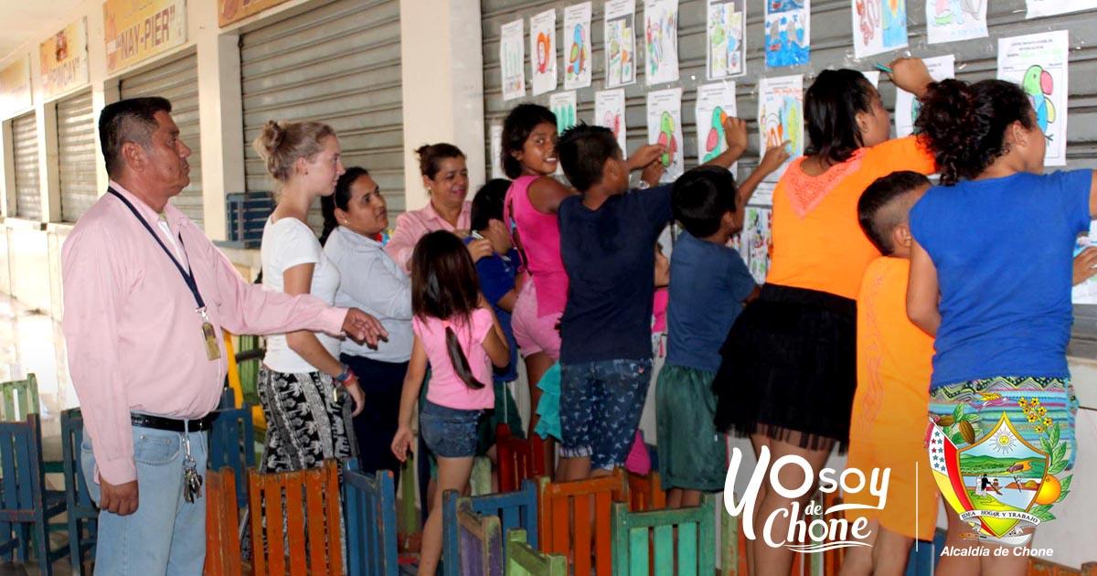 Centro Infanto juvenil genera con enseñanza y aprendizaje en mercado municipal