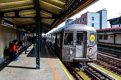 MTA New York City Subway Kawasaki R68A #5100