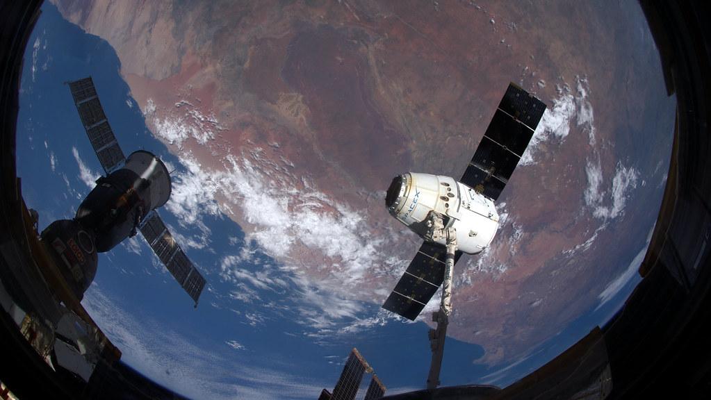 Dragon and Soyuz