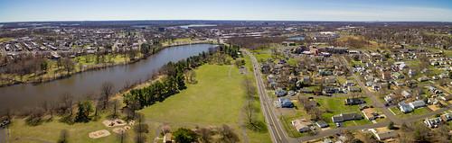 spring drone dji bristol pennsylvania aerial panorama phantom3 sethjdeweyphotography unitedstates us