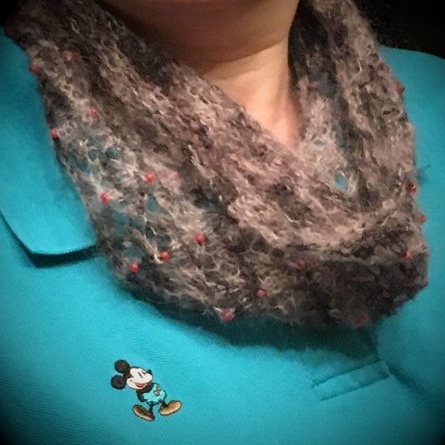 Circle of Love lace cowl #2