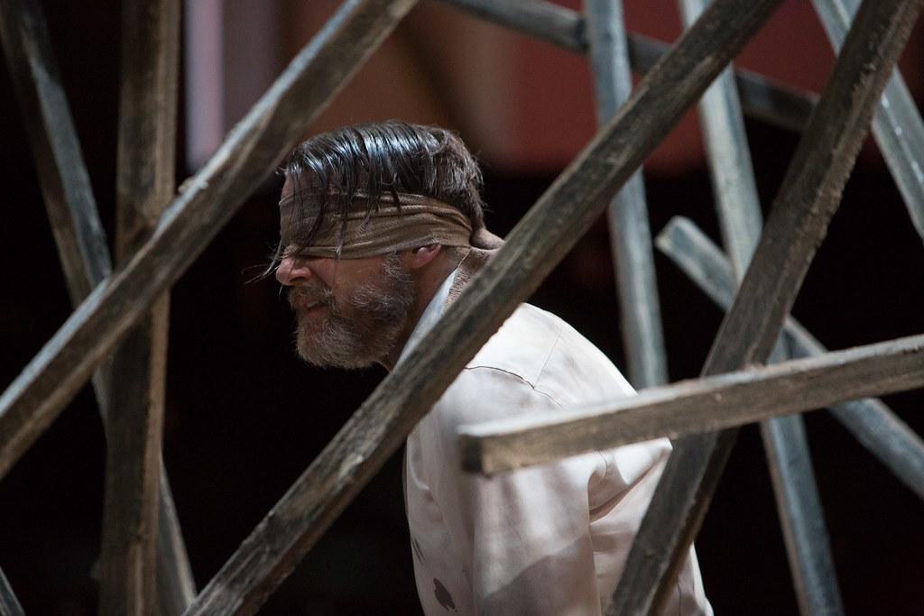 RET Twelfth Night - Anthony Calf (Malvolio)  image Jonathan Keenan