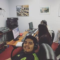 Students having fun in the MIDI classroom! #school #studio #omega