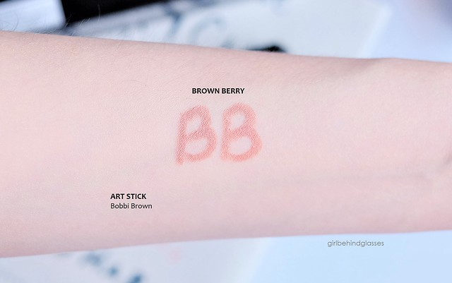 Bobbi Brown Art Stick Brown Berry swatch