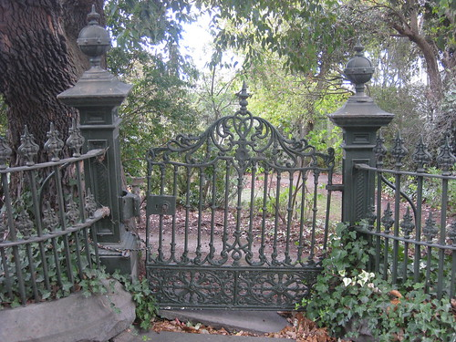 A Victorian Cast Iron Gate and Fence - Ballarat