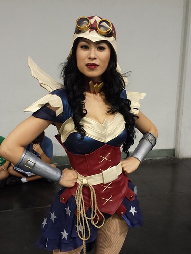 Wondercon 2014:Steampunck Wonder Woman