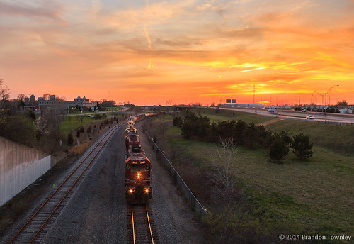 railroad sunset trains columbusohio ohiocentral