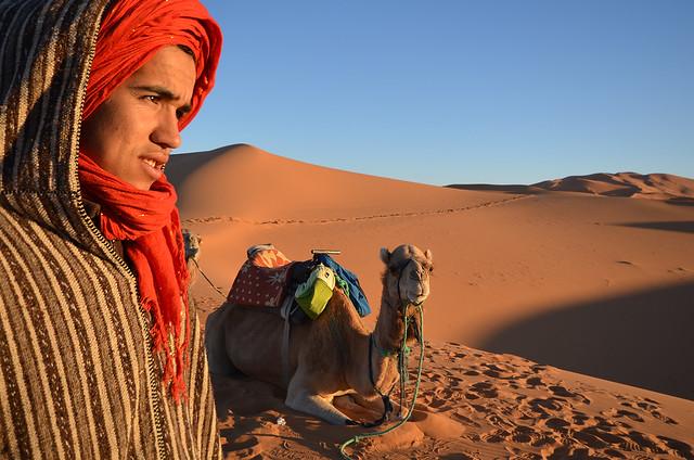 Nuestro guía por el desierto de Marruecos