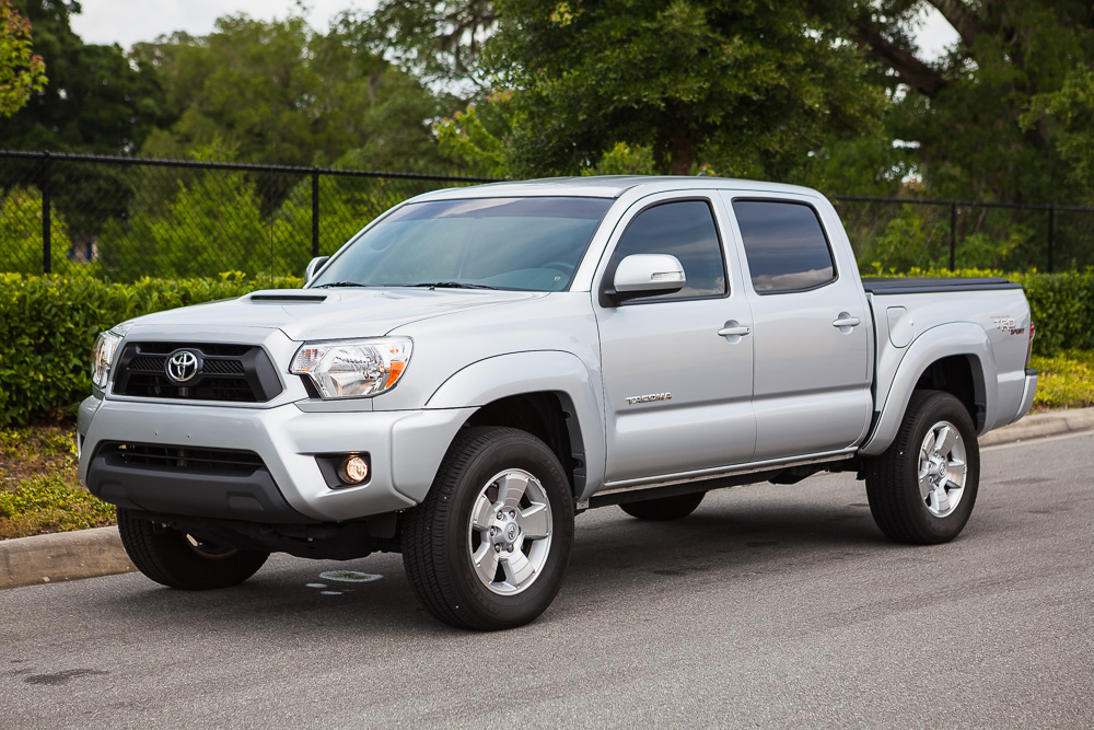 2013 toyota tacoma dcsb trd sport 4x4 silver only 13 000 miles tacoma world. Black Bedroom Furniture Sets. Home Design Ideas