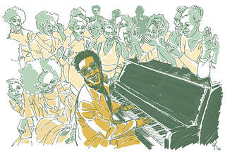 A little tribute to Stevie Wonder | by Emanuele Rosso