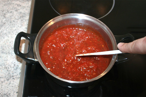 15 - Aufkochen & reduzieren lassen / Boil up & let reduce