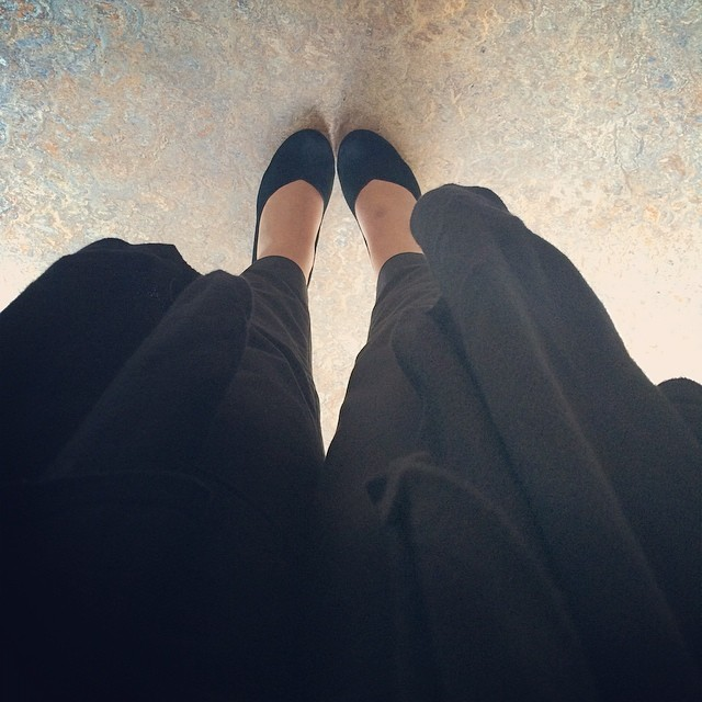 Black widow as ever for work, but these shoes still feel effortlessly elegant no matter how many days I wear them.