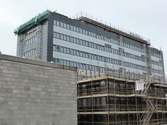 April 2014: New cladding & windows on Aberdeen College Gallowgate Campus (Now North East Scotland College, Aberdeen City Campus), Gallowgate, Aberdeen...