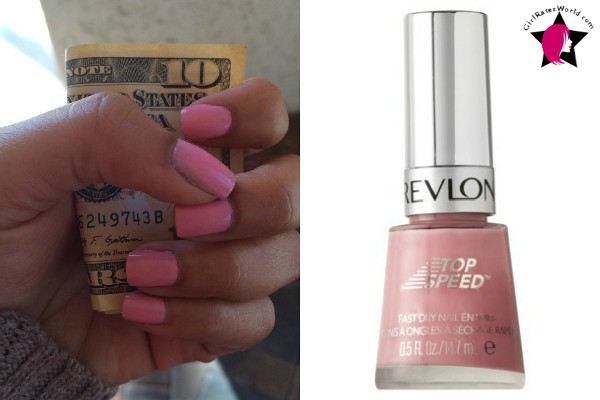 Pink Lingerie - Revlon Nail Polish Review and Swatch
