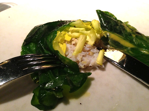 Steamed Crab & Sorrel, Wild & Cultivated
