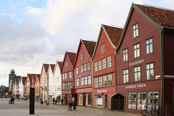 Bryggen de Bergen (Noruega)
