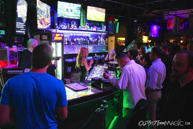 Player 1 video game bar throws first members only party for Food bar game