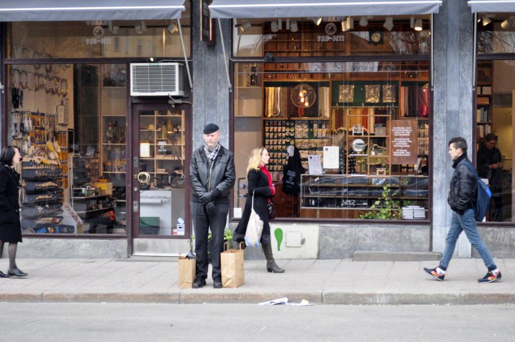 Calles del SoFo entre tiendas Vintage y Retro