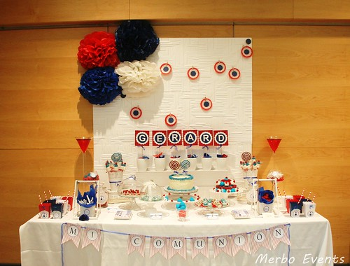 Mesa dulce para la comuni n de gerard merbo events for Mesa dulce marinera
