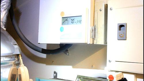 太陽能蓄熱水器