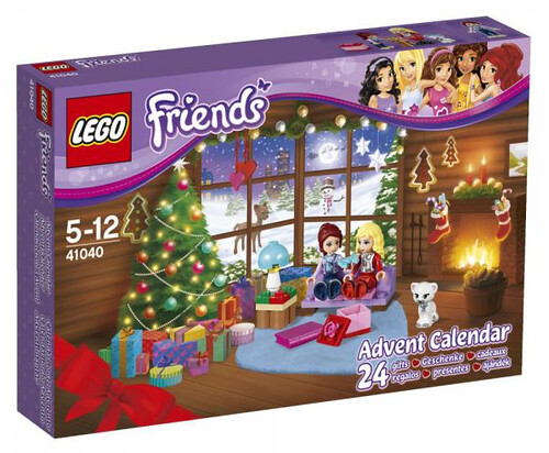 LEGO Friends 2014 Advent Calendar #41040 box front