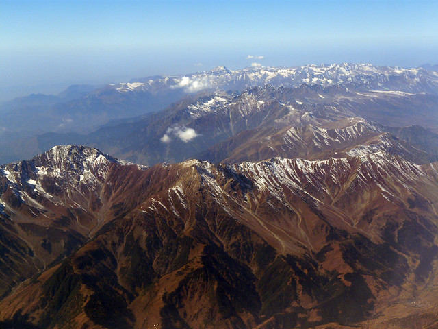 Himalayas - Aerial view from Flickr via Wylio